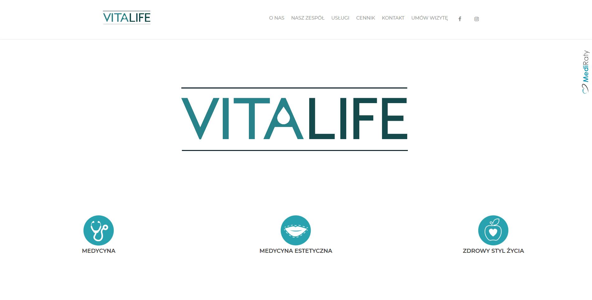 Strona VITALIFE